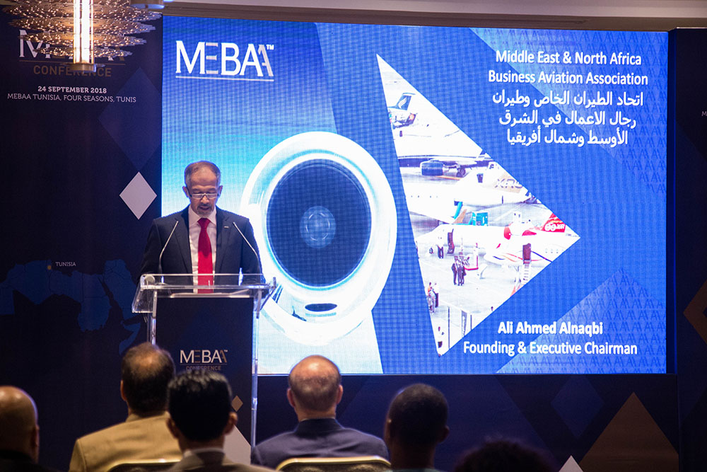 TUNISIA KEY FOR BUSINESS AVIATION IN MENA